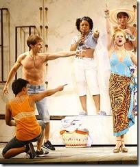 Mamma Mia dance off